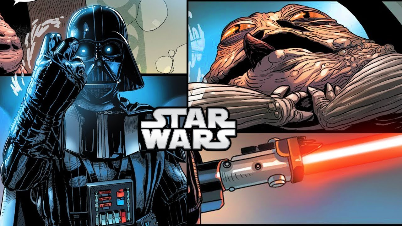 How Darth Vader FORCE CHOKED Jabba The Hutt (CANON) - Star ... Jabba The Hutt Choked