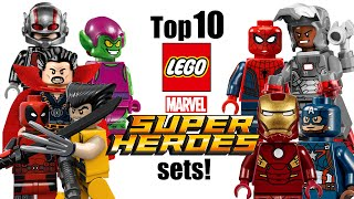 Top 10 LEGO Marvel Super Heroes Sets!
