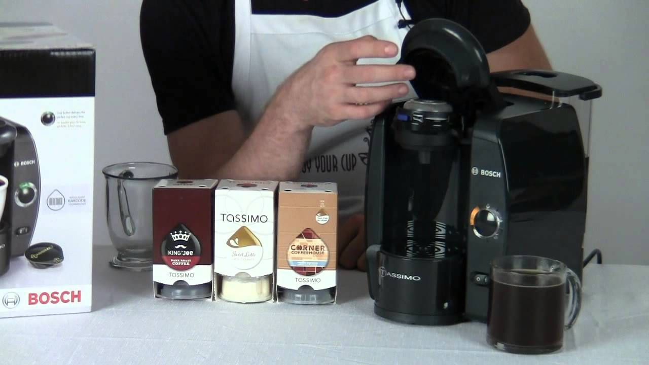Tassimo Coffee Maker Ratings : Review: Tassimo T10 Coffee Maker - YouTube