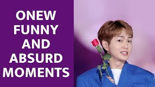 Shinee 샤이니 Onew Funny ,Cute and Absurd Moments