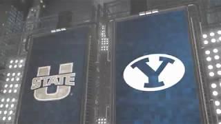 HIGHLIGHTS: Utah State Aggies vs BYU
