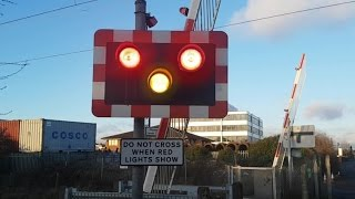 *Rare* Manor Way Level Crossing, London