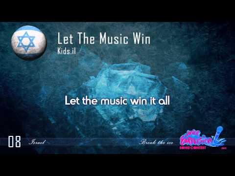 """Kids.il """"Let The Music Win"""" (Israel) - [Karaoke version]"""