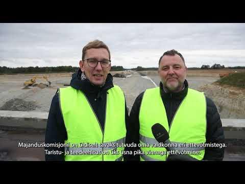 Majanduskomisjoni väljasõiduistung riigi tee-ehitusobjektidele, 21.09.2021