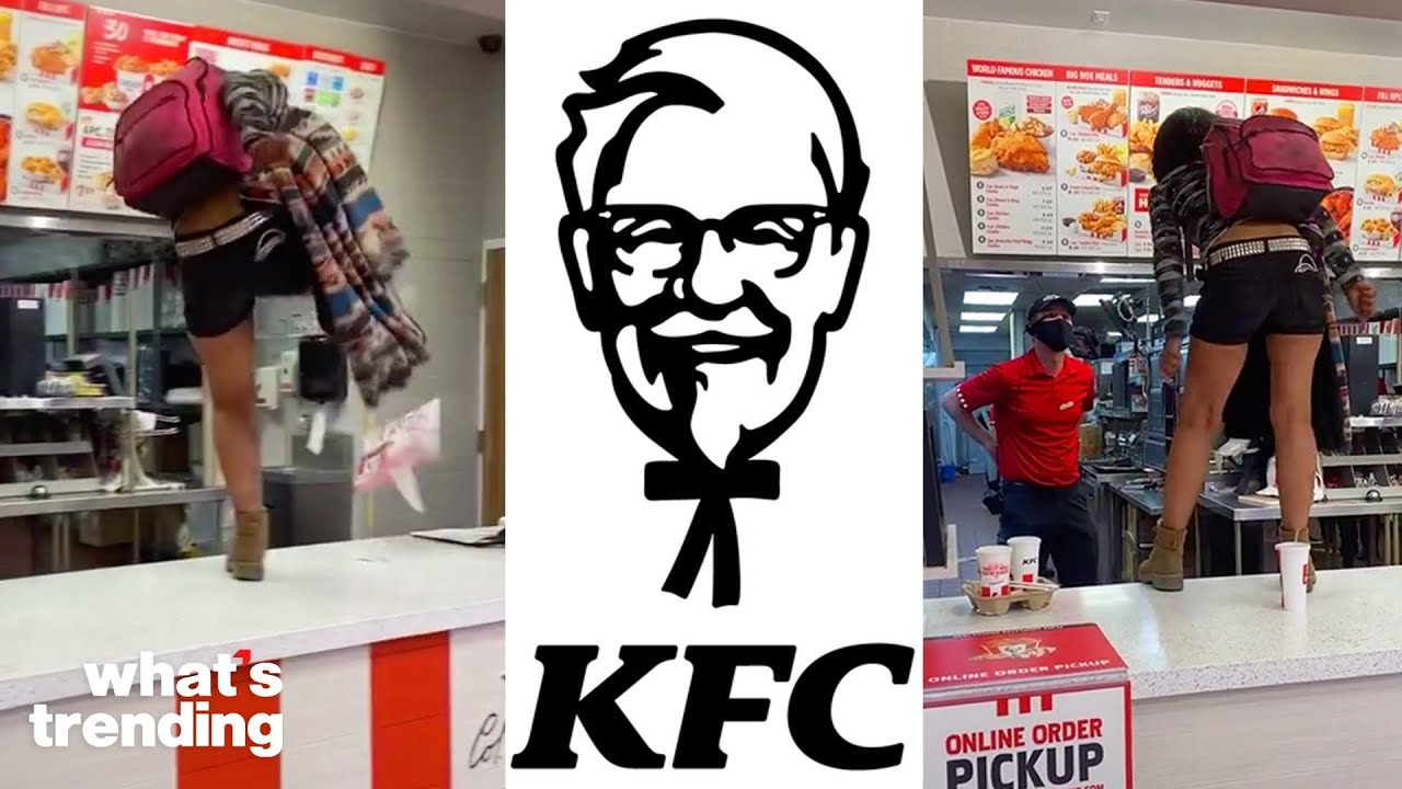 Download KFC Karen Lashes at Employees for Refusing Her Service