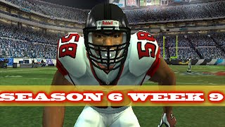 ANOTHER ROUND VS THE PANTHERS - MADDEN 2007 FALCONS FRANCHISE VS PANTHERS - s6w9
