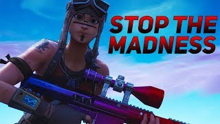 """Fortnite Montage - """"Stop the Madness"""" (Lil Skies feat. Gunna)"""