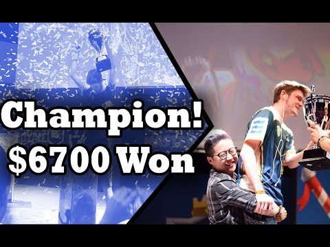 WINNING $6700! Gamergy Masters 2017 Champion Coltonw83! | Cl