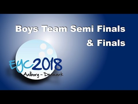 EYC 2018  Boys Team Semifinals & Finals  Bowling