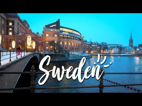 SWEDEN 2017/18 | TRAVEL VLOG