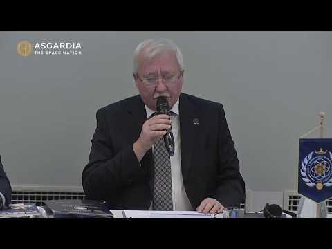 Глава Нации Асгардия выступил на Втором Конгрессе руководящего состава Асгардии