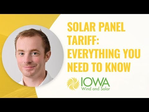 Solar Panel Tariff: Everything You Need To Know