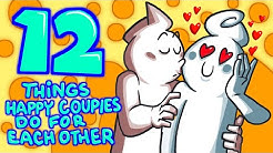 12 Things Happy Couples Do For Each Other