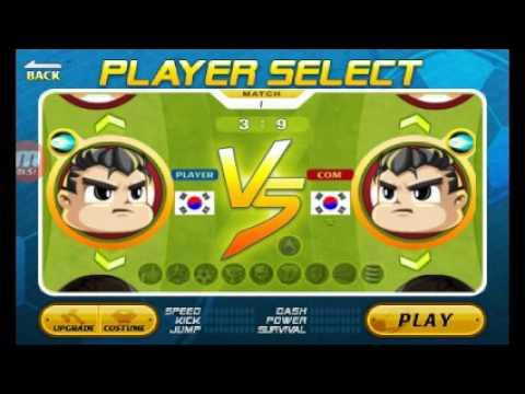 Premier jeux video mi suuuuur ma chaîne!!!!!!  HEAD soccer