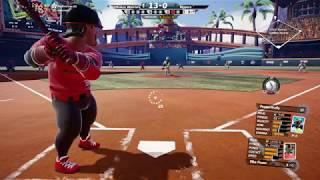 Super Mega Baseball 2 - Pitchers getting hit Compilation