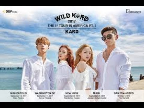 My Kard Concert Experience + Footage (sorry low quality)