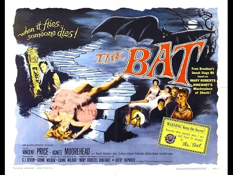 The Bat Full Horror Movie Thriller Mystery | Vincent Price, Agnes Moorehead, Darla Hood