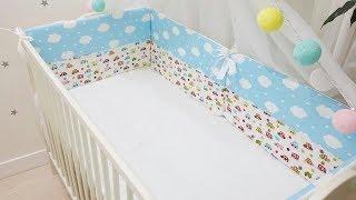 видео Бампер для детской кроватки