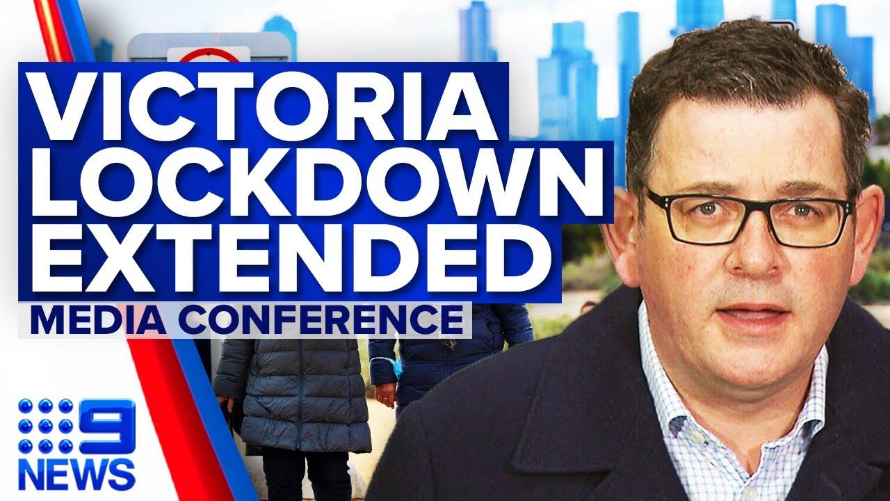 Victoria Lockdown Extended 13 Covid 19 Cases Detected Coronavirus 9 News Australia Youtube