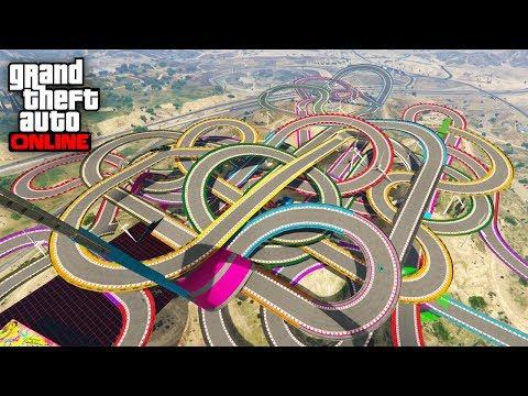 983725 CURVAS EPICAS!!! - CARRERA GTA V ONLINE - GTA 5 ONLINE