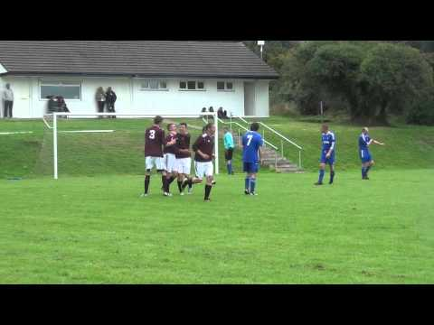 Brett Kitching scores for Marown v Braddan (0-1) 7 September 2013