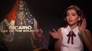 Isabela Moner Talks SICARIO, Children's Rights & More