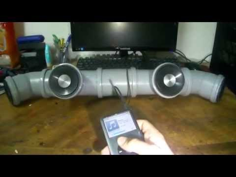 Pvc Speaker Youtube