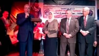 بالفيديو...تكريم مدير عام إدارة كفر شكر التعليمية