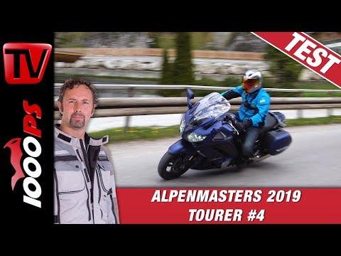 Yamaha FJR 1300 Test beim Alpenmasters Vergleich  - Tourer Folge 4/4