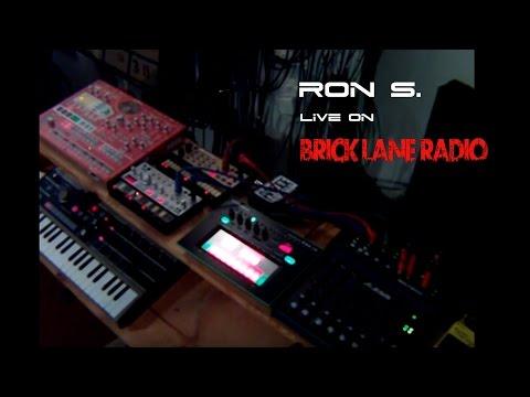 Ron S Live PA Techno set for Bricklane Radio UK