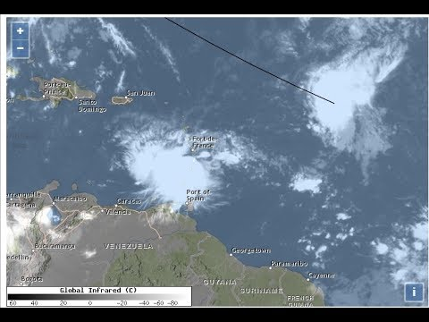SOLAR ECLIPSE CLOUD COVER FORECAST TROPICAL STORM HARVEY MOVING WEST AS TROPICS HEAT UP