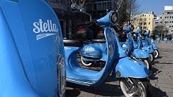 Saisonstart: Die blauen Stella-Roller flitzen wieder durch Stuttgart