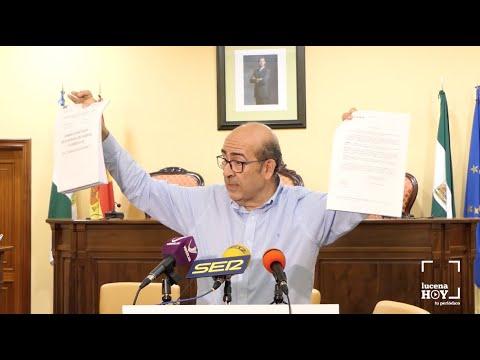VÍDEO: José Pedro Moreno niega la existencia de acoso laboral en el ayuntamiento de Lucena