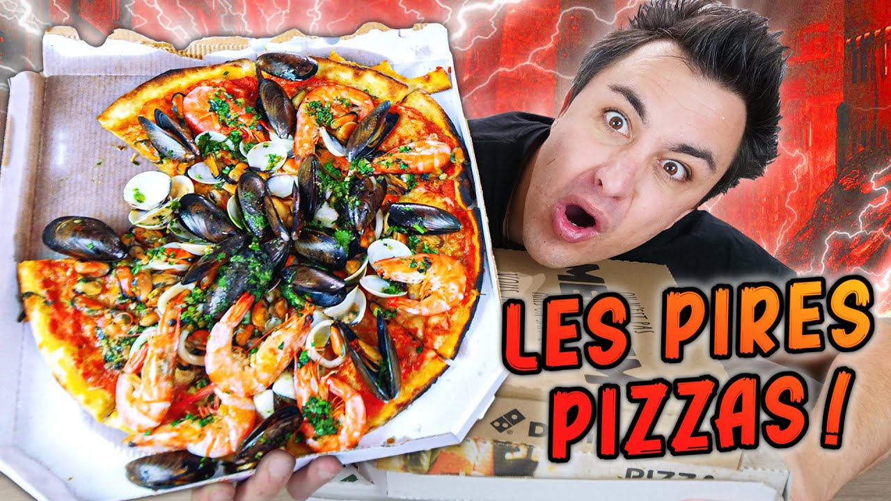 Download LES PIRES PIZZAS AU MONDE ! Burger, ananas, kebab...