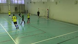 Мелиоратор Авиатор 14 ТУР Чемпионата КЛФЛ по мини футболу сезон 2020 2021