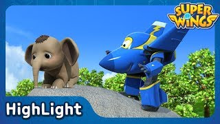Boonying's Bath | SuperWings Highlight | S1 EP25