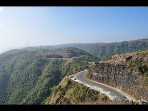 beauty of cherrapunji, Tour to Shillong, meghalaya Driving Through Clouds Road HD