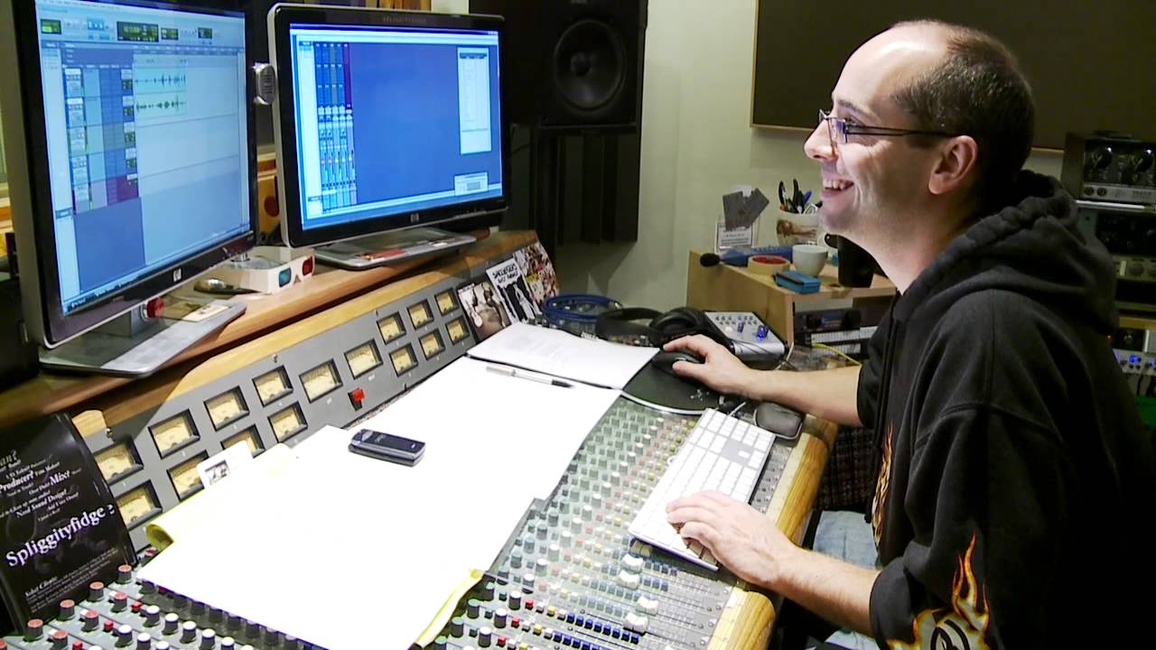 Day In The Life: Audio Engineer   YouTube