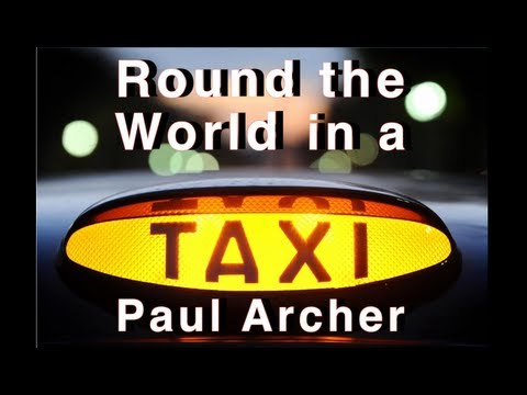 Round the world in a London black taxi