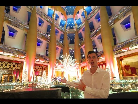 INSIDE WORLDS MOST EXPENSIVE HOTEL !?!?! Burj Al Arab !!!!!!!!!