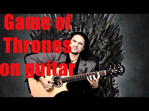 Игра престолов - разбор на гитаре