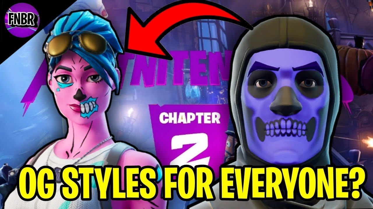 Ghoul Trooper And Skull Trooper OG Styles Returning For Everyone?