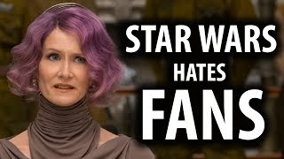 Disney Star Wars Media Threatens Fans Again