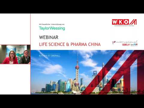 Webinar | Lifescience & Pharma | China