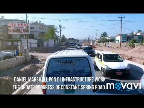 The update Progress of Constant Spring Road, the market, redevelopment has begin.