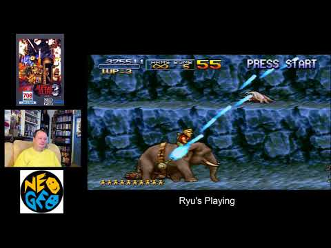 Metal Slug 3 Neo Geo [Ryu's Playing]