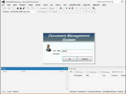 Complete Document Management System 2008 in VB net