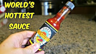 World's Hottest Sauce Challenge