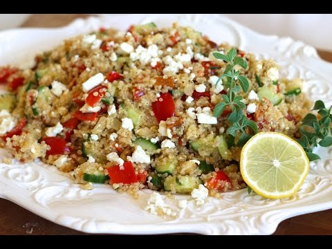 Side Dish Recipe: Mediterranean Style Quinoa By Everyday Gourmet With Blakely
