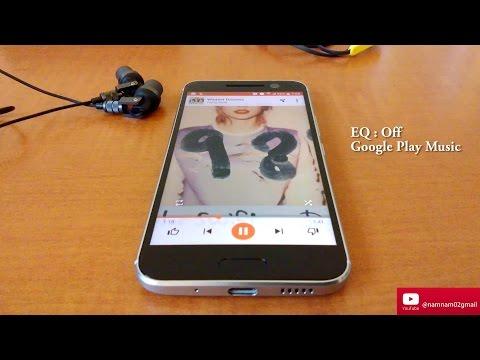 HTC 10 -  PowerAMP EQ vs Google Play Music